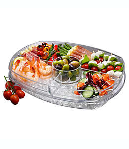 Charola con tapa Prodyne Appetizers on Ice™