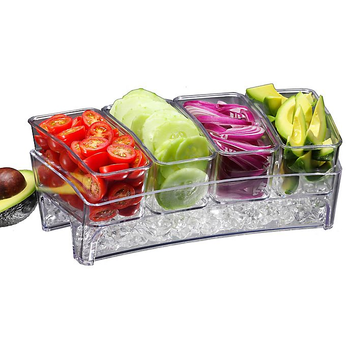 Alternate image 1 for Prodyne Condiments Bar on Ice™ Tray
