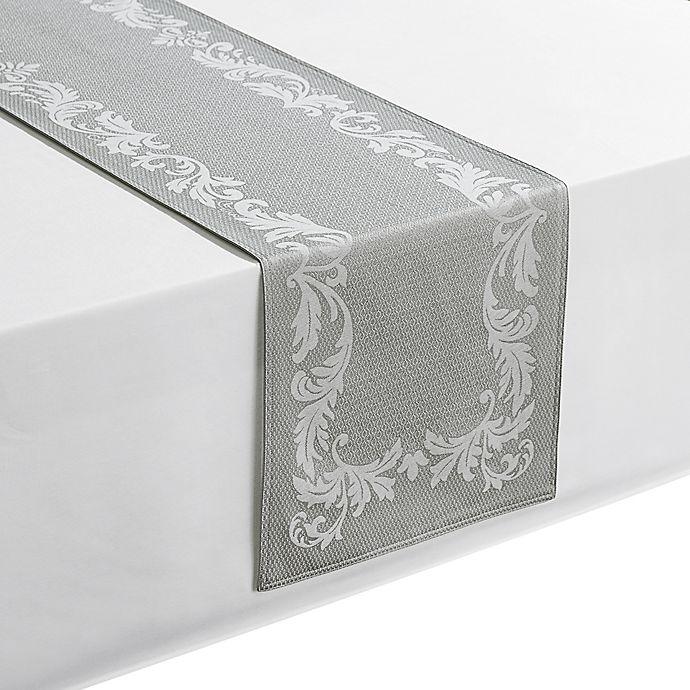 Alternate image 1 for Waterford® Linens Celeste 72-Inch Table Runner in Silver