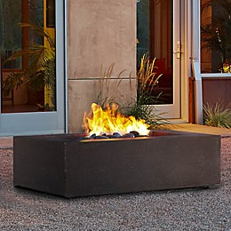 Real Flame® Rectangular Natural Gas Fire Table