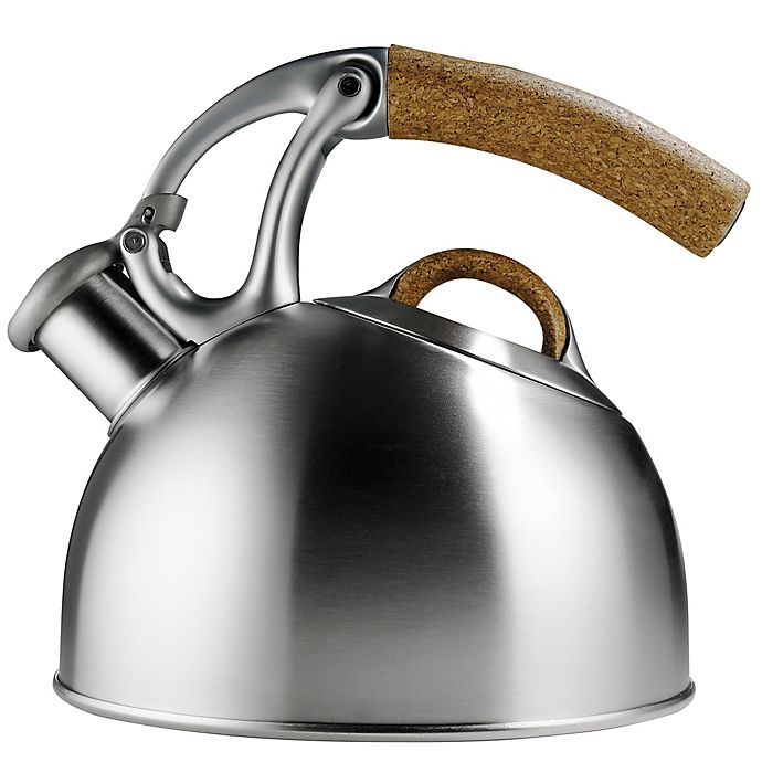 Alternate image 1 for OXO Good Grips® Uplift™ Anniversary Edition Tea Kettle in Brushed Steel