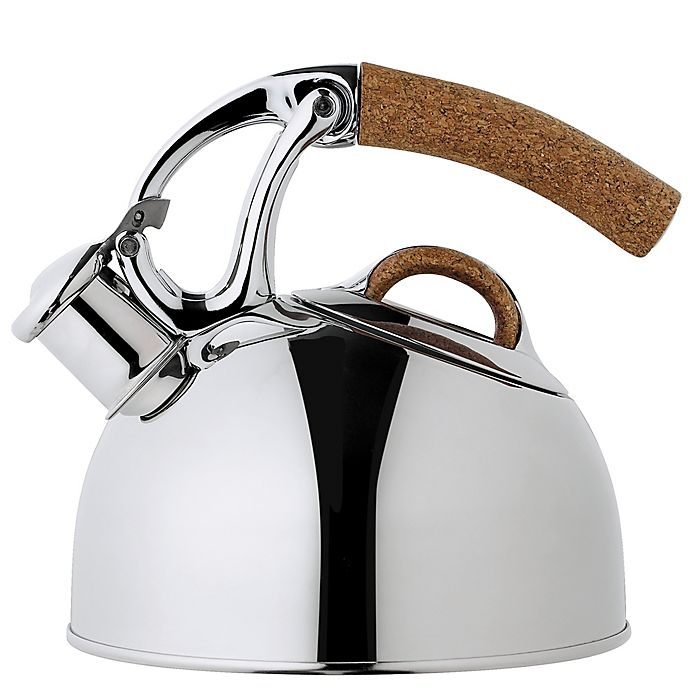 Alternate image 1 for OXO Good Grips® Uplift™ Anniversary Edition Tea Kettle in Polished Steel