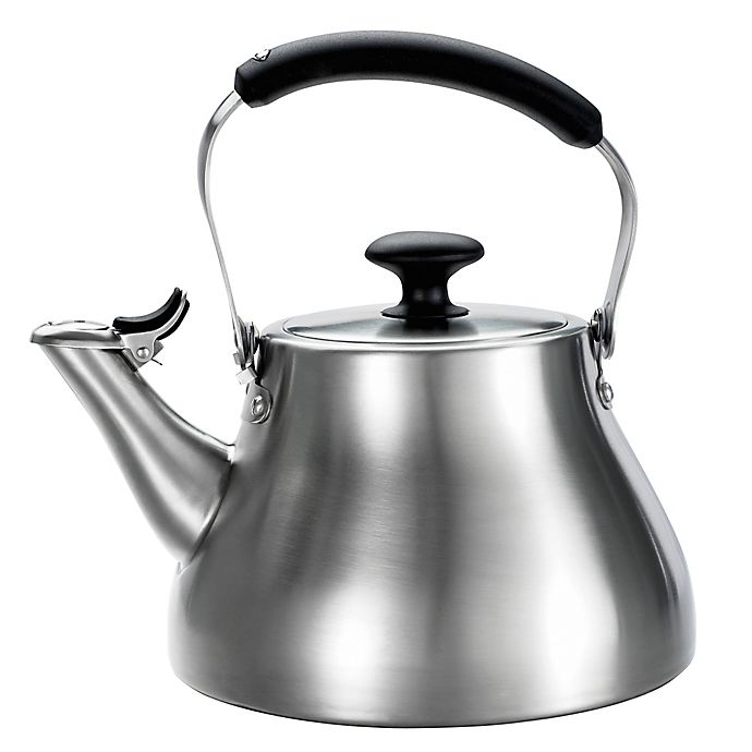 Alternate image 1 for OXO Good Grips® Brushed Stainless Steel Tea Kettle