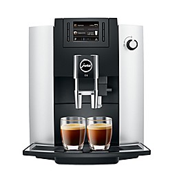 Jura® E6 Fully Automatic Coffee Machine in Platinum