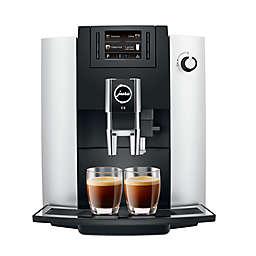 Jura® E6 Fully Automatic Coffee Machine in Platinum