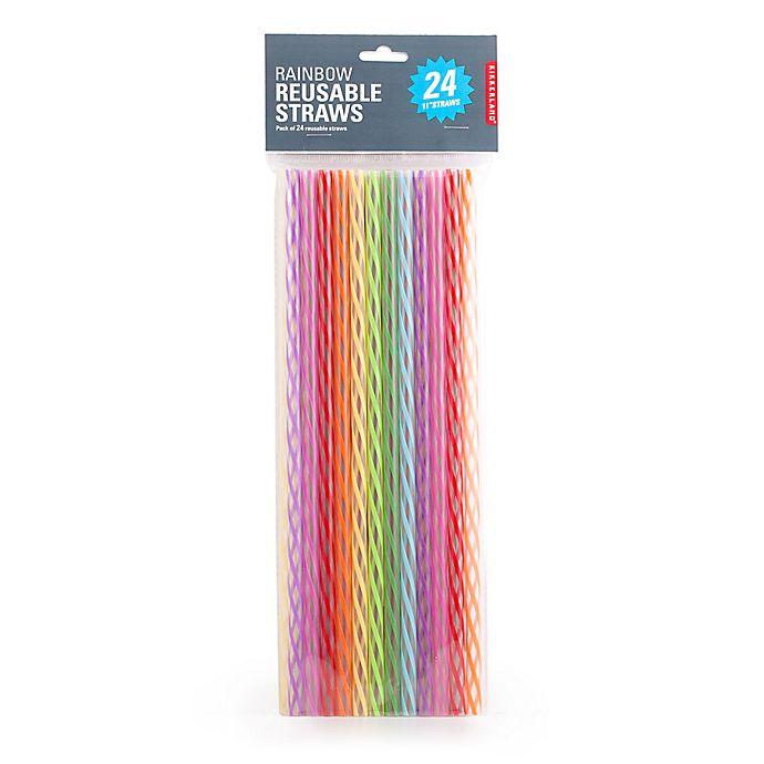 Alternate image 1 for Kikkerland® 24-Pack 11-Inch Reusable Straws