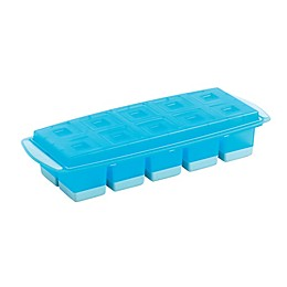 Mastrad® Cocktail Rocks Ice Cube Tray with lid in Blue