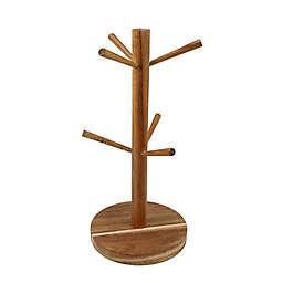 Thirstystone® Acacia Wood Mug Tree