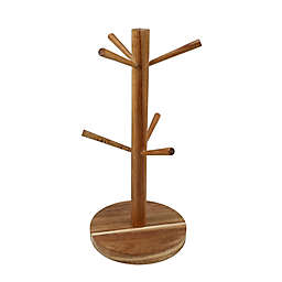 Thirstystone® Acacia Wood Mug Tree
