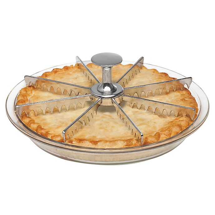 Alternate image 1 for Mrs. Anderson's Baking® 8-Slice Pie Marker and Cutter