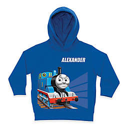 Thomas the Tank Engine Tracks  Pullover Hoodie in Blue