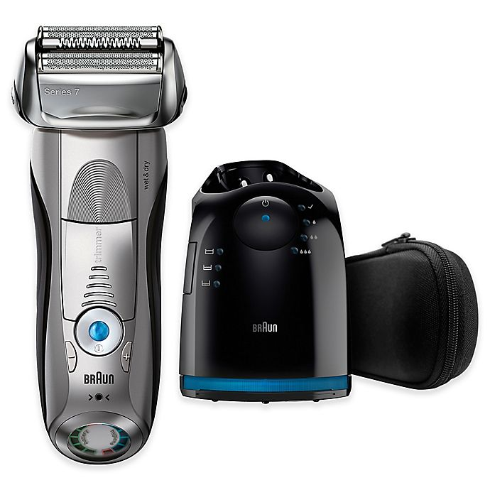 Alternate image 1 for Braun Series 7-7899CC Electric Shaver in Silver