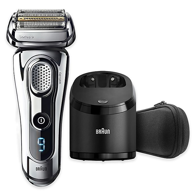 Alternate image 1 for Braun Series 9-9295CC Wet & Dry Electric Shaver in Chrome