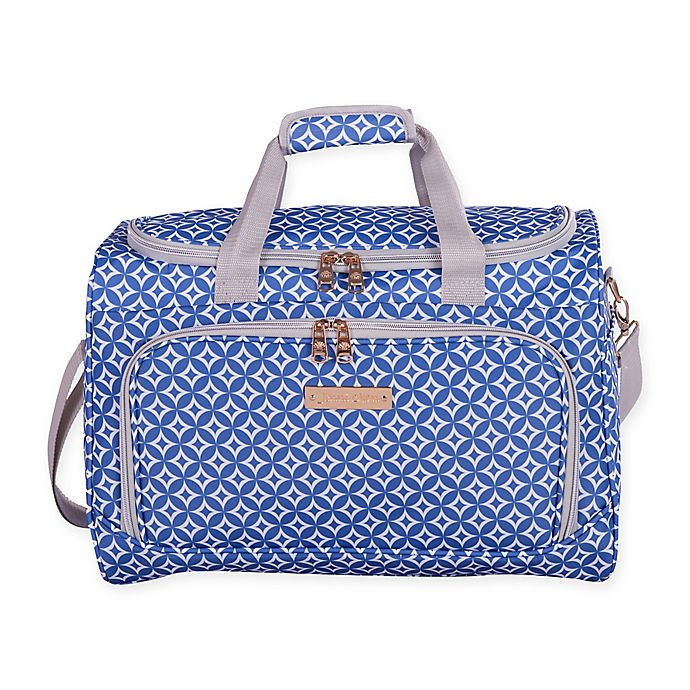 Alternate image 1 for Jenni Chan Aria Stars 17-Inch City Duffle Bag in Blue