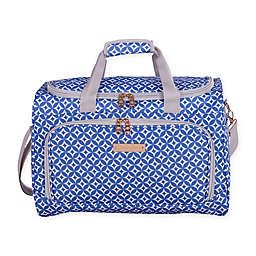 Jenni Chan Aria Stars 17-Inch City Duffle Bag in Blue