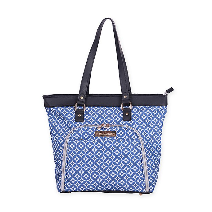 Alternate image 1 for Jenni Chan Aria Stars 18-Inch Computer Tote in Blue