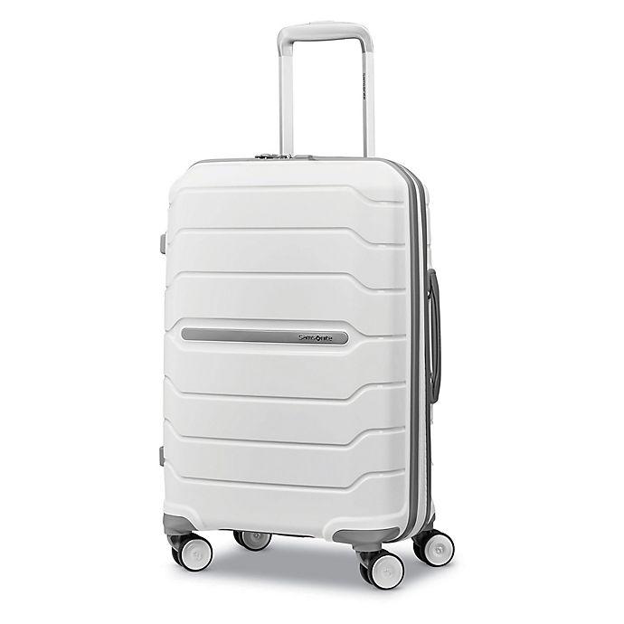 Alternate image 1 for Samsonite® Freeform 21-Inch Hardside Spinner Carry On Luggage in White