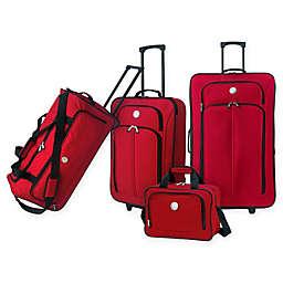 Travelers Club® Genova 4-Piece Wheeled Luggage Set