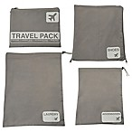 Latitude 40°N® Jet Set 4-Piece Travel Laundry Bag Set