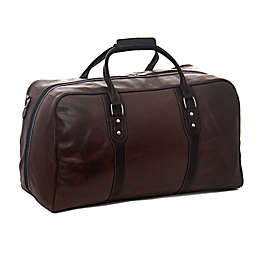 Piel® Leather Classic Vintage Duffel Bag in Vintage Brown