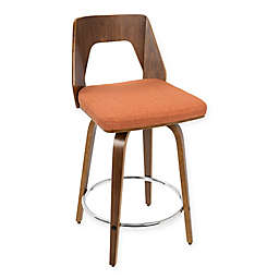LumiSource Trilogy Counter Stools (Set of 2)