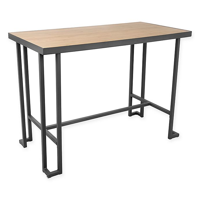 Alternate image 1 for LumiSource Roman Counter Table in Grey