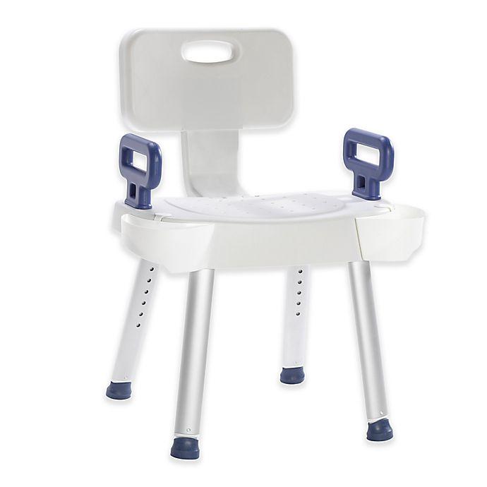 Miraculous Drive Medical Premium Series Spa Safety Bath Chair In White Machost Co Dining Chair Design Ideas Machostcouk
