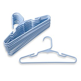Plastic Children's 10-count Clothes Hangers