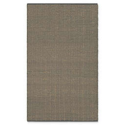 Surya Wesley 8-Foot x 10-Foot Indoor/Outdoor Area Rug in Charcoal