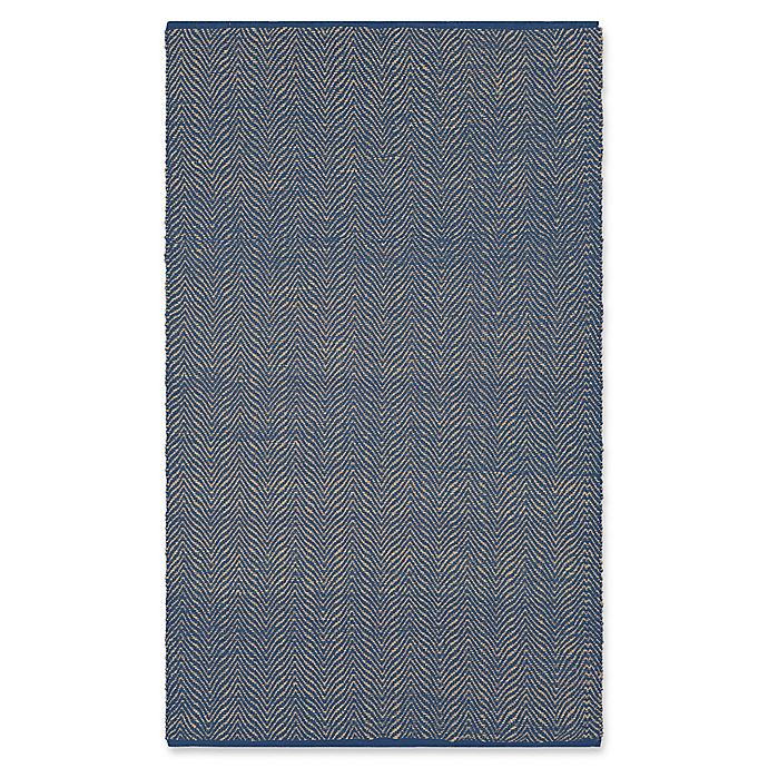 Alternate image 1 for Surya Wesley 8-Foot x 10-Foot Indoor/Outdoor Area Rug in Dark Blue