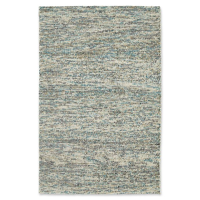 Alternate image 1 for Kaleen Cord Pixel 8-Foot x 10-Foot Area Rug in Turquoise