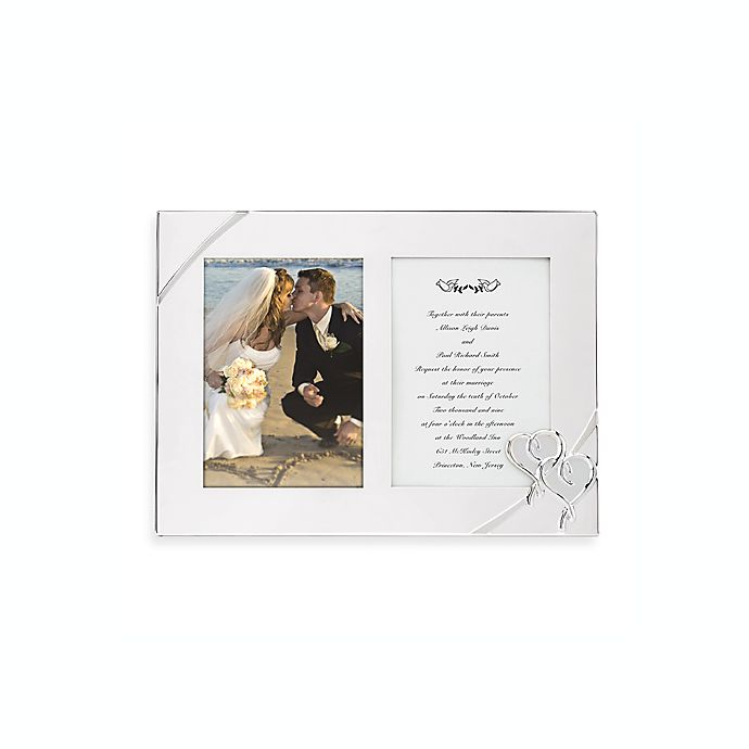 6e5546e42ad Lenox® True Love Double Invitation Frame