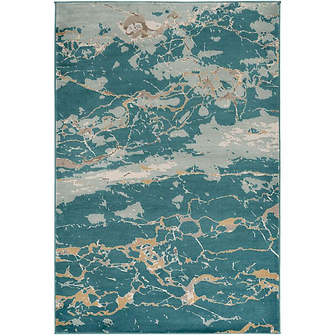 Alternate image 1 for Style Statements by Surya Jensen 7-Foot 10-Inch x 10-Foot 10-Inch Area Rug in Aqua