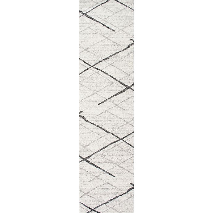 Alternate image 1 for nuLOOM Smoky Thigpen 2-Foot 5-Inch x 9-Foot 5-Inch Runner in Grey