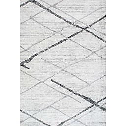 nuLOOM Smoky Thigpen 3-Foot  x 5-Foot Area Rug in Grey