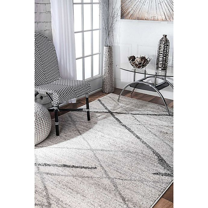 Alternate image 1 for nuLOOM Smoky Thigpen Rug in Grey