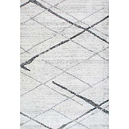 nuLOOM Smoky Thigpen 6-Foot 7-Inch x 9-Foot Area Rug in Grey