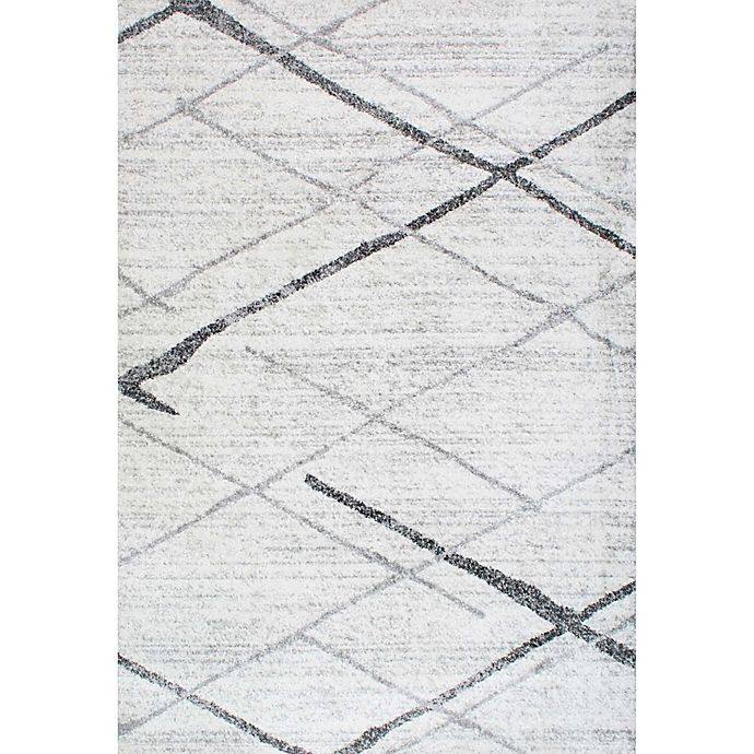 Alternate image 1 for nuLOOM Smoky Thigpen 7-Foot 6-Inch x 9-Foot 6-Inch Area Rug in Grey