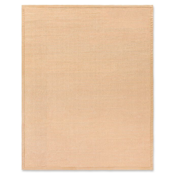 Alternate image 1 for Flores Natural 9-Foot x 13-Foot Area Rug in Light Brown