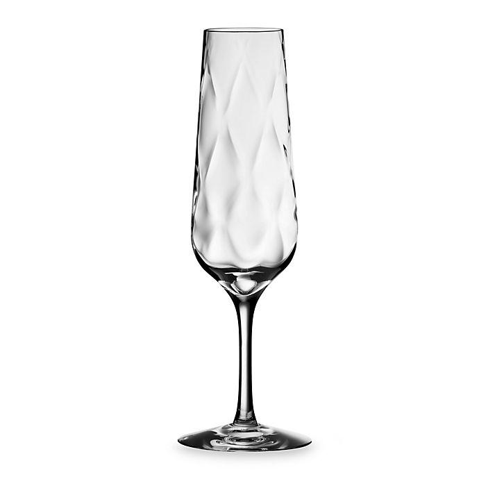 Alternate image 1 for Orrefors Dizzy Diamond Champagne Flute