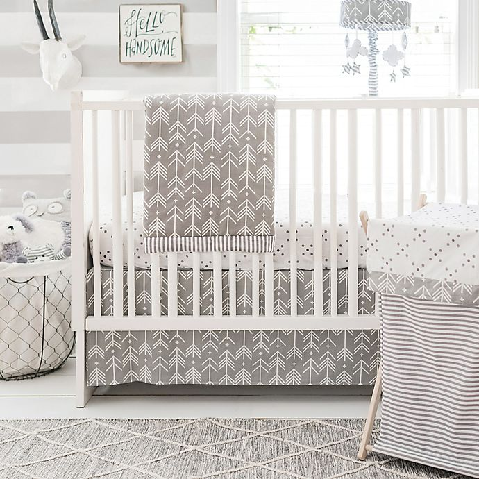 Alternate image 1 for My Baby Sam  Little Explorer 3-Piece Crib Bedding Set