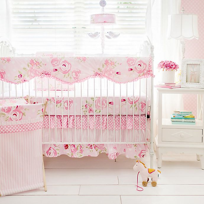Alternate image 1 for My Baby Sam Rosebud Lane Crib Bedding Collection