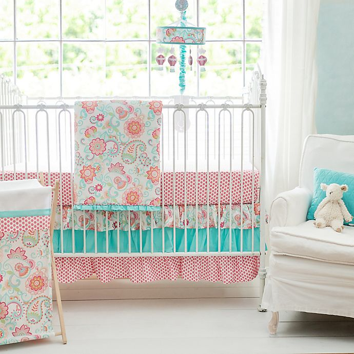 Alternate image 1 for My Baby Sam Gypsy Baby Crib Bedding Collection