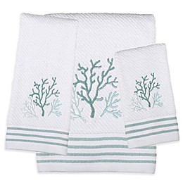 Saturday Knight Coral Reef Bath Towel Collection