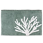 Saturday Knight Coral Reef 30-Inch x 21-Inch Bath Rug in Aqua