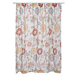 Levtex Home Araya Shower Curtain in Red