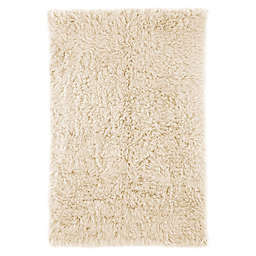 nuLOOM Greek Flokati Shag 2-Foot x 3-Foot Accent Rug in Natural