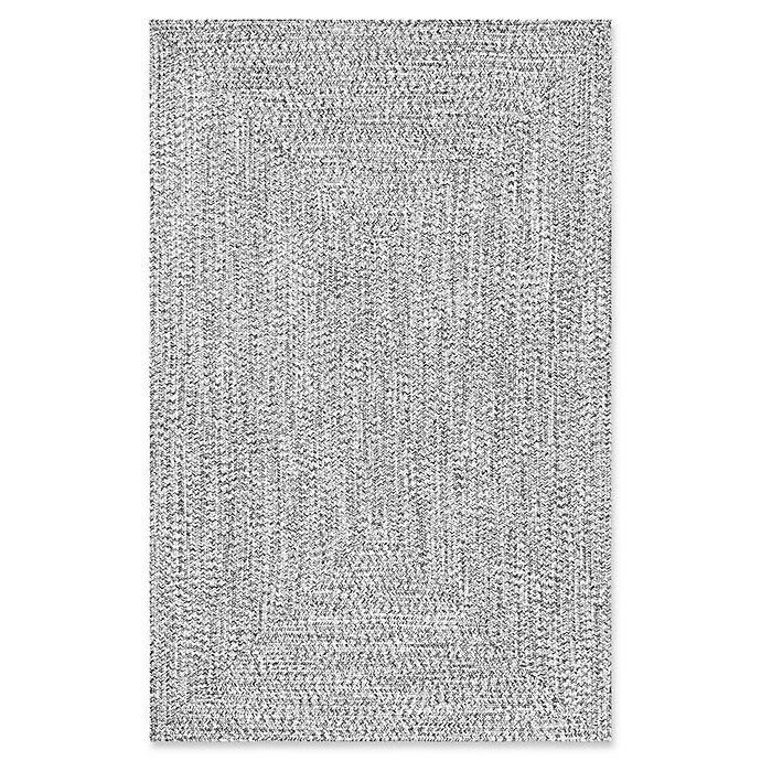 Alternate image 1 for nuLOOM Festival Lefebvre Braided Rug in Black/White