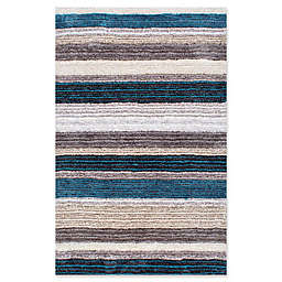 nuLOOM Hand Tufted Classie 8-Foot x 10-Foot Shag Area Rug in Blue