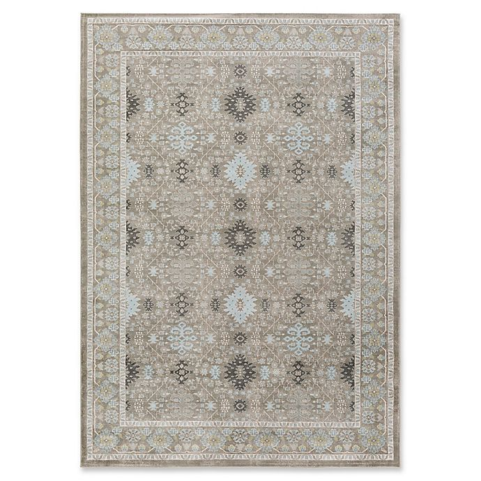 Alternate image 1 for Surya Allegro 2-Foot 2-Inch x 3-Foot Accent Rug in Grey